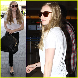 Amanda Seyfried: LAX Flyer!