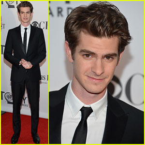 Andrew Garfield - Tony Awards 2012 Red Carpet