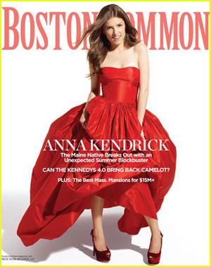 Anna Kendrick Covers 'Boston Common' Summer 2012