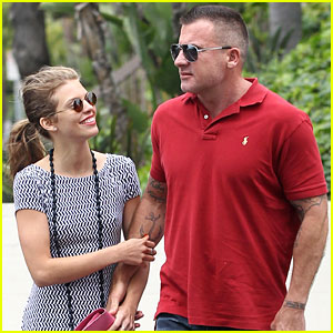 AnnaLynne McCord & Dominic Purcell: Cheesecake Factory Lunch!