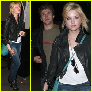 Keegan Allen And Ashley Benson Kissing Keegan Allen Ta...