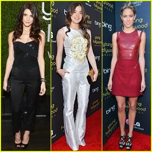 Ashley Greene & Hailee Steinfeld: Young Hollywood Awards!