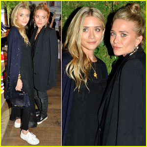 Mary-Kate & Ashley Olsen: Superga Opening Launch!