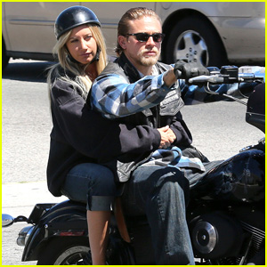 Ashley Tisdale & Charlie Hunnam: 'Sons of Anarchy' Set!