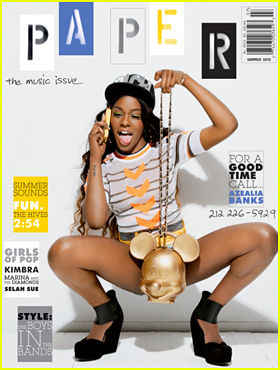Azealia Banks Covers 'Paper' Summer Music Issue