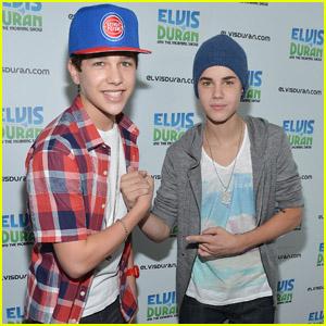 Justin Bieber & Austin Mahone: Z100 Appearance!