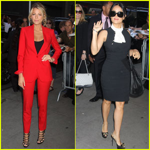 Blake Lively & Salma Hayek: 'Good Morning America'!