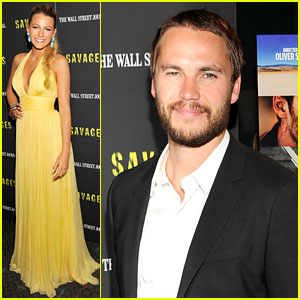 Blake Lively & Taylor Kitsch: 'Savages' Premiere in New York!