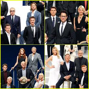 Brad Pitt & Charlize Theron: Paramount 100th Anniversary Pic!