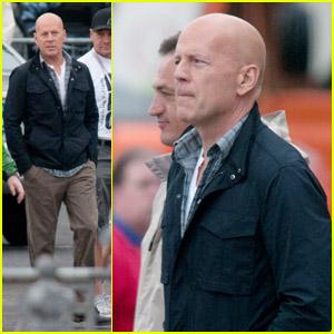 Bruce Willis: 'Good Day to Die Hard' Set!