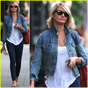 Cameron Diaz: West Village Walker
