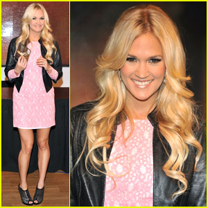 Carrie Underwood: 'Blown Away' Signing in London!