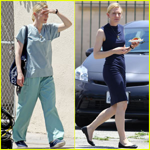 Cate Blanchett Scrubs Up for 'Knight of Cups'