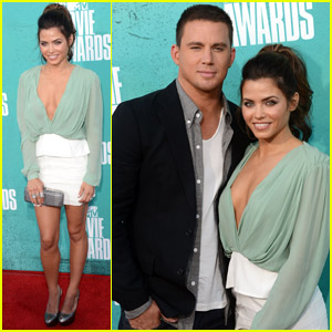 Channing Tatum - MTV Movie Awards with Jenna Dewan!