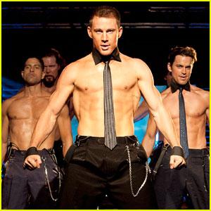 Channing Tatum: Shirtless 'Magic Mike' Stills!