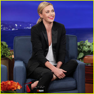 Charlize Theron Talks Creepy Charity Blind Date