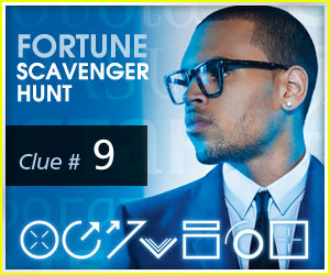Here's Clue #9 to Chris Brown's 'Fortune' Scavenger Hunt