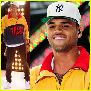 Chris Brown: 'Today' Takeover in Rockefeller Plaza!
