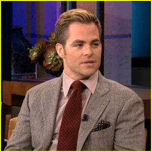 Chris Pine Talks '50 Shades of Grey' on 'Tonight Show'