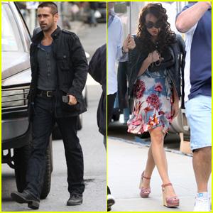 Colin Farrell & Noomi Rapace: 'Dead Man Down' Duo!