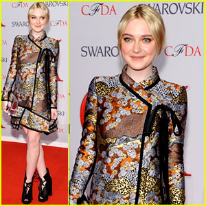 Dakota Fanning - CFDA Fashion Awards 2012