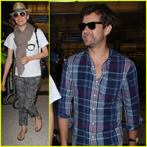 Diane Kruger & Joshua Jackson: Back in the USA!
