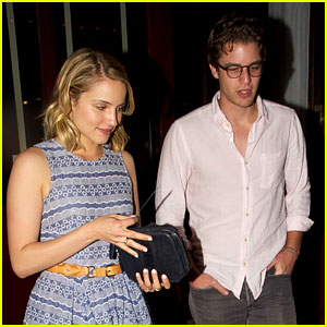 Dianna Agron & Henry Joost: Bar Marmont Mates!