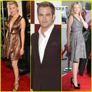 Elizabeth Banks & Chris Pine: 'People Like Us' Premiere