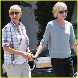 Ellen DeGeneres: 'I Stand With the President!'