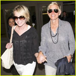 Ellen DeGeneres: Check out Portia's New Tattoo!