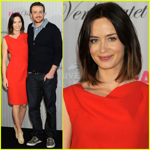 Emily Blunt & Jason Segel: 'Five-Year Engagement' in Germany!