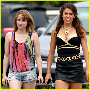 Emma Roberts: 'Empire State' Set with Nikki Reed!