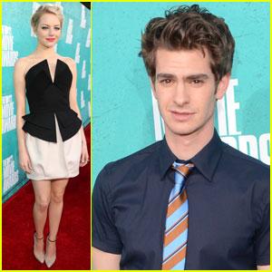 Emma Stone & Andrew Garfield - MTV Movie Awards 2012