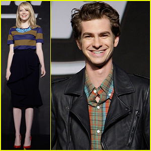 Emma Stone & Andrew Garfield: South Korea Press Conference!