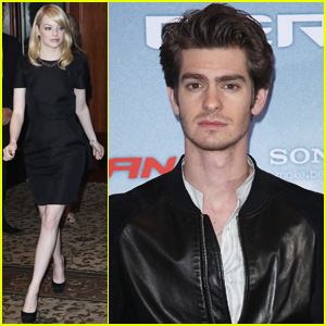 Emma Stone & Andrew Garfield: 'Spider-Man' Germany Photo Call!