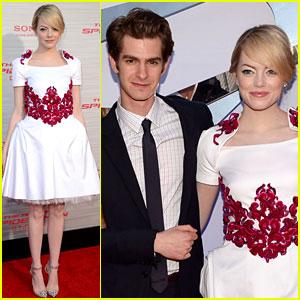 Emma Stone & Andrew Garfield: 'Spider-Man' L.A. Premiere!