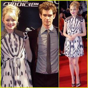 Emma Stone & Andrew Garfield: 'Spider-Man' Seoul Premiere!