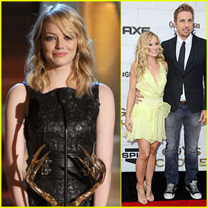 Emma Stone & Kristen Bell: Guys Choice Awards 2012!