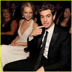 Emma Stone - Tony Awards 2012 with Andrew Garfield
