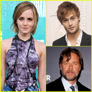 Emma Watson is in negotiations to join the cast of Darren Aronofsky    Douglas Booth And Emma Watson Noah