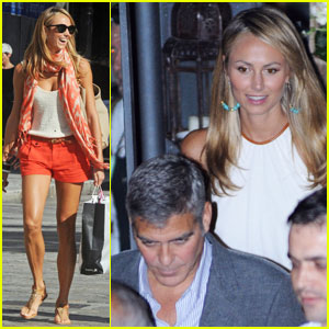 George Clooney & Stacy Keibler: il Gatto Nero Night!