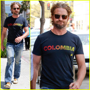 Gerard Butler: Doctor's Checkup in Beverly Hills