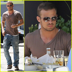 Cam Gigandet: Toast Lunch with Dominique Geisendorff!