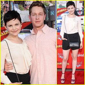 Ginnifer Goodwin: 'Cars Land' Opening with Josh Dallas!