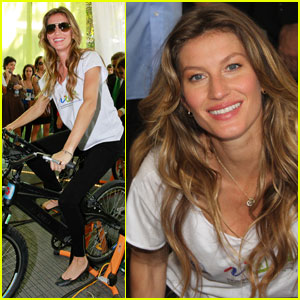 Gisele Bundchen: Green Nation Fest in Rio!