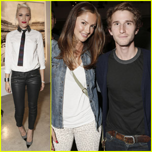 Gwen Stefani & Minka Kelly: Exposure2 Exhibit!