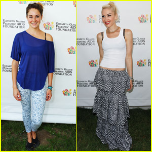 Gwen Stefani & Shailene Woodley: Time for Heroes Picnic!