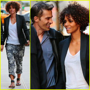 Halle Berry & Olivier Martinez: Date Night in NYC!