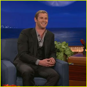 Chris Hemsworth: 'Conan' Appearance!