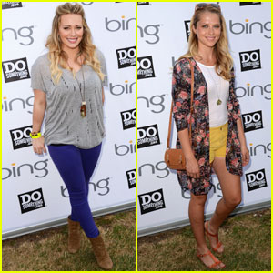 Hilary Duff & Teresa Palmer: Do Something with Bing!
